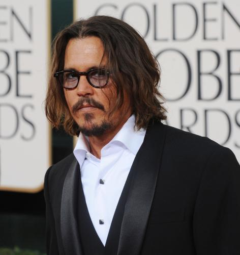 Johnny Depp arrives at the