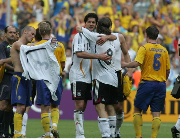 FIFA SOCCER WORLD CUP 2006 GERMANY vs SWEDEN2-0