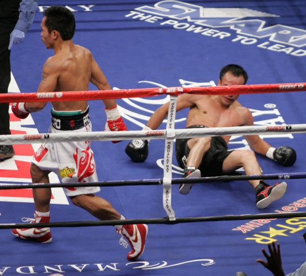 Pac Dropping Marquez