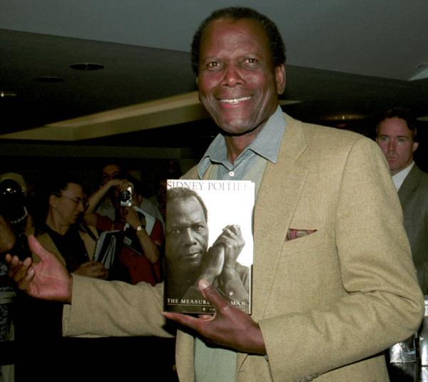 Sidney Poitier promotes his autobiography