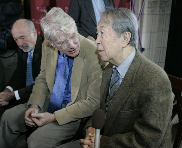 University of Chicago professor Yoichiro Nambu wins nobel prize in physics