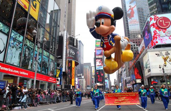 NEW YORK CITY THANKSGIVING DAY PARADE ROUTE