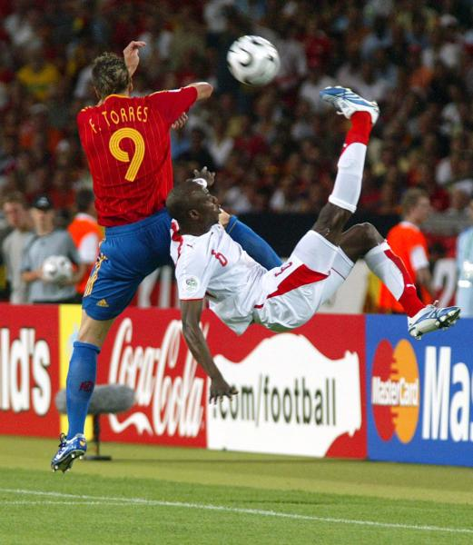 FIFA SOCCER WORLD CUP 2006 SPAIN vs TUNISIA 3-1