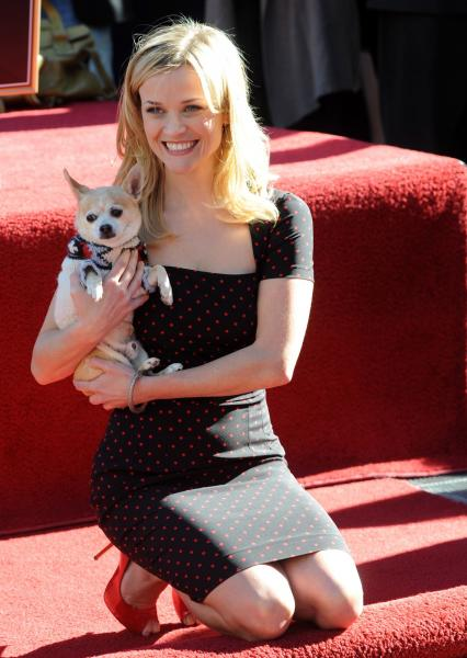 Reese Witherspoon receives star on Hollywood Walk of Fame in Los Angeles