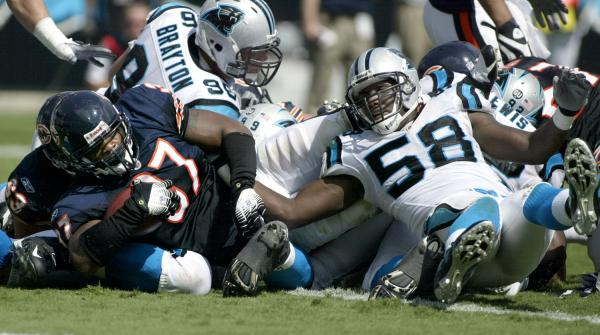 Madden's Hotwire News NFL-BEARS-PANTHERS