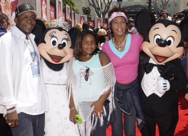 bobby brown and whitney houston daughter