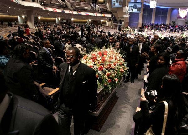 Coretta Scott King Funeral Celebrity Hot