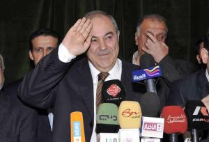 Allawi edges al-Maliki in Iraq's Parliamentary elections