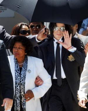 Katherine Jackson and Michael