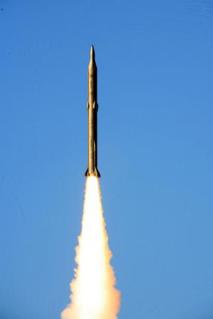 Sejil Missile Launch
