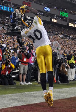 Santonio Holmes - Super Bowl MVP