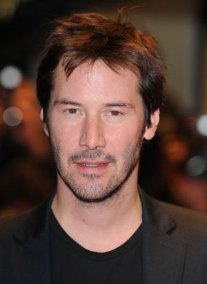 "American actor Keanu Reeves attends the premiere of ""Anvil! The Story Of Anvil"" at The Times BFI London Film Festival at Odeon West End, Leicester Square in London on October 21, 2008.  (UPI Photo/Rune Hellestad)"