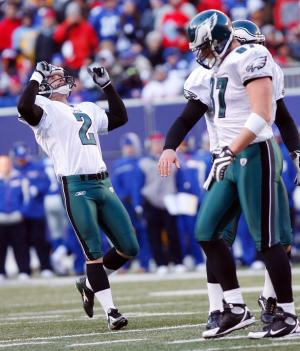 Philadelphia Eagles at New York Giants NFL Divisional Playoffs