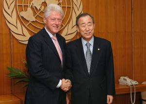 Bill Clinton and UN