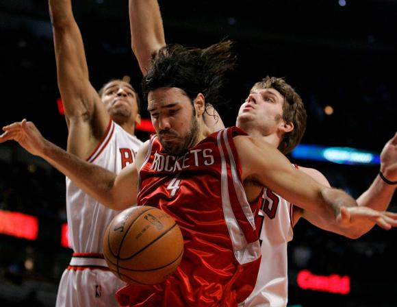 The Raptors better be ready to mix it up with Scola and the Rockets tonight...