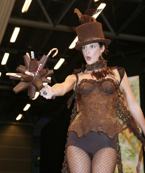 Chocolate - Chocolate show opens in Paris