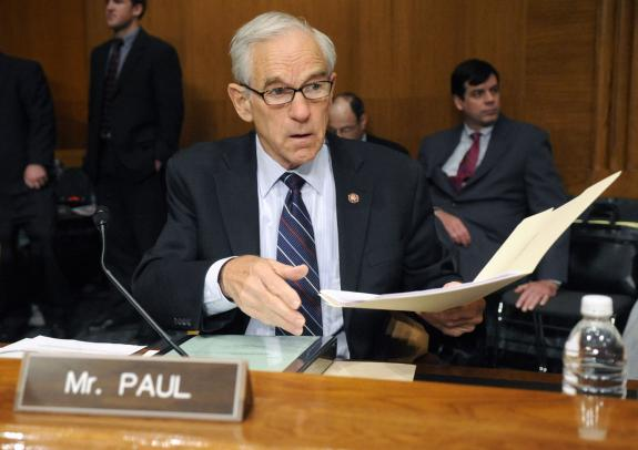 Ron Paul Leads Hearing On First Ever Audit Of Fed Ron Paul 1