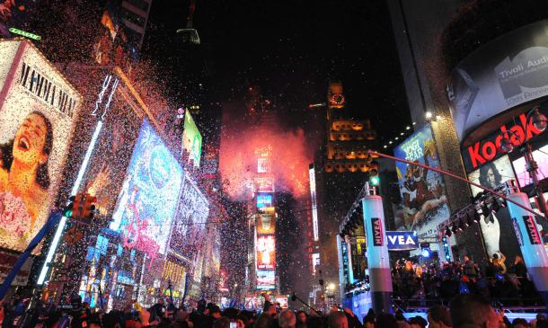 times square new york new years. Times Square on New Years