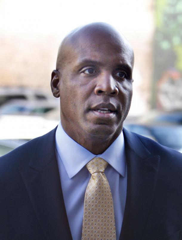 barry bonds trial. Barry Bonds arrives for