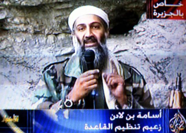 Bin laden and pm Vice. osama in laden video.