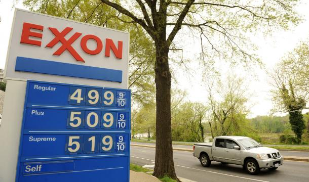 Gas Prices Reach Five Dollars a Gallon in the Nation's Capital