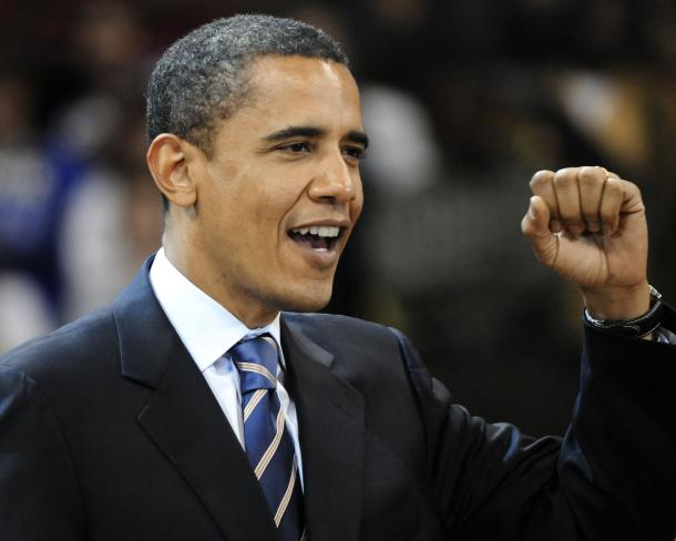 Barack Obama at Peterson Event Center in Pittsburgh